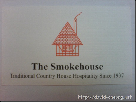 Smokehouse - Namecard