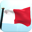 Malta Flag 3D Live Wallpaper icon