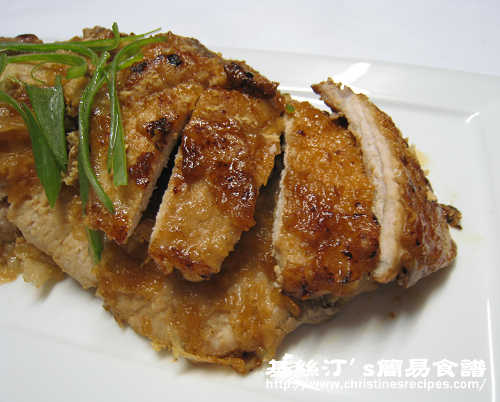 日式薑汁豬扒 Japanese Pork Chops in Ginger Sauce02