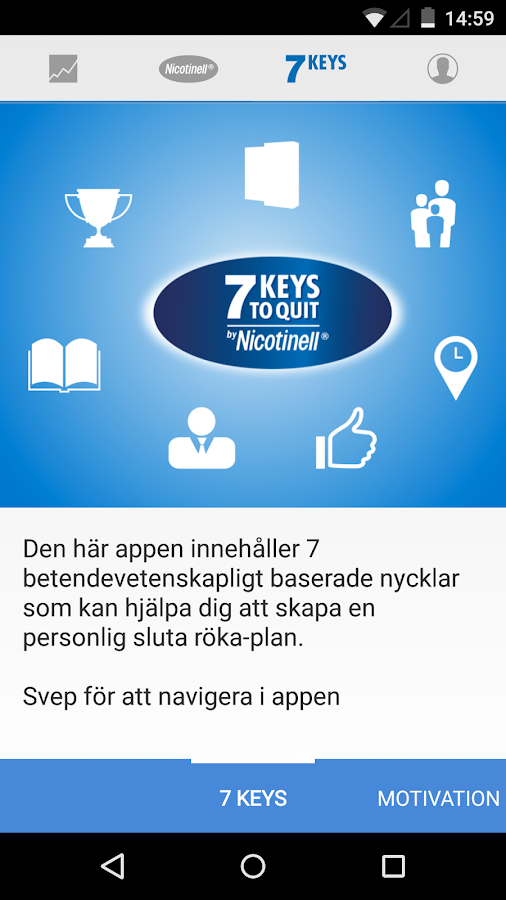 7 Keys to Quit (Sweden)- screenshot