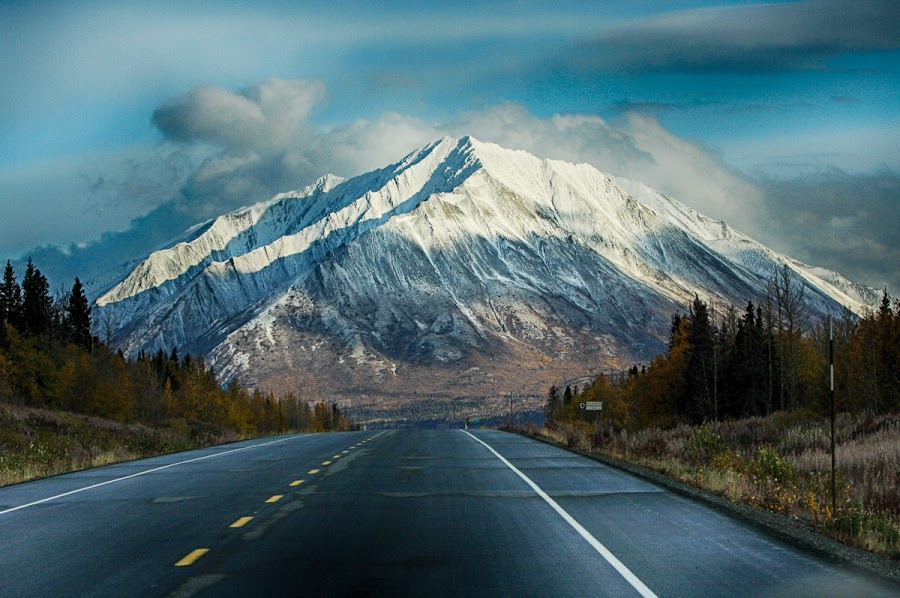 The Road to Alaska by Brent Morris - Landscapes Travel (  )