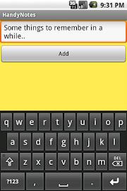 Handy Notes Screenshot 1