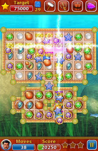 OceanuX - Underwater Match 3