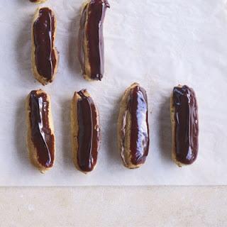 Double Chocolate Eclairs Recipe