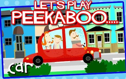 Peekaboo Vehicles Free