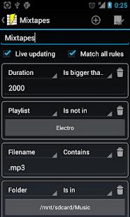 Playlist Manager - screenshot thumbnail