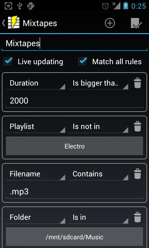 Playlist Manager - screenshot