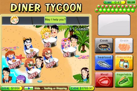 Diner Tycoon Lite - screenshot