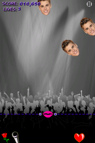 Kisses for Justin Bieber
