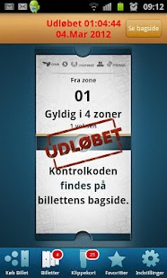 Mobilbilletter Hovedstaden - screenshot thumbnail