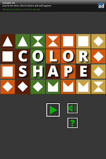 Color and Shape Tile Puzzle