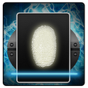 Fingerprint Scanner lock icon