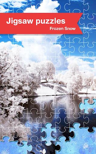 Jigsaw Puzzles - Frozen Snow