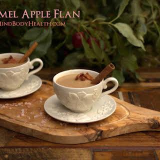 Caramel Apple Flan.