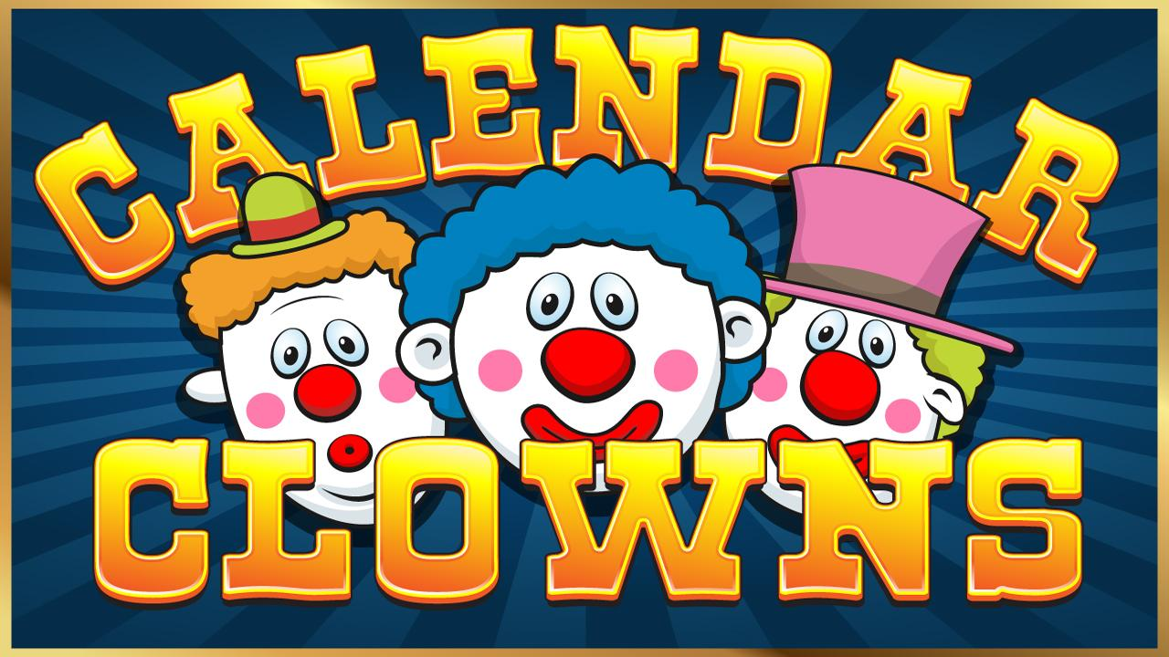 Calendar Clowns - screenshot