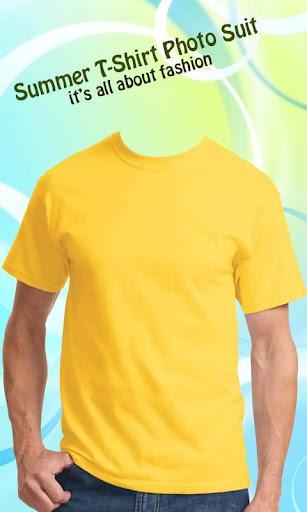 Summer T-Shirt Photo Suit