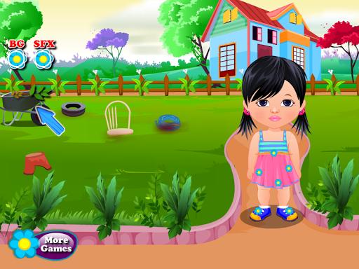 花卉园女孩子的游戏