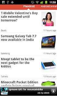 Reader for Android™ News- screenshot thumbnail