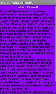 The Importance Of Tajweed - screenshot thumbnail