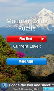 Mountain Slide Puzzle - screenshot thumbnail