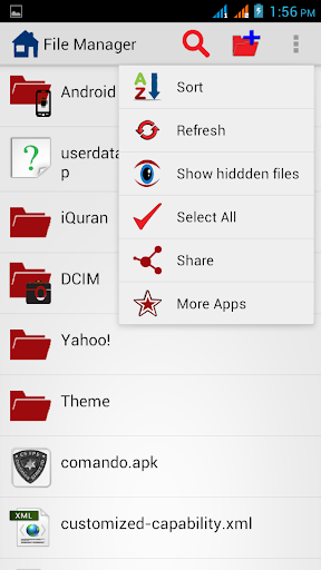 Hide File Folder File Manager
