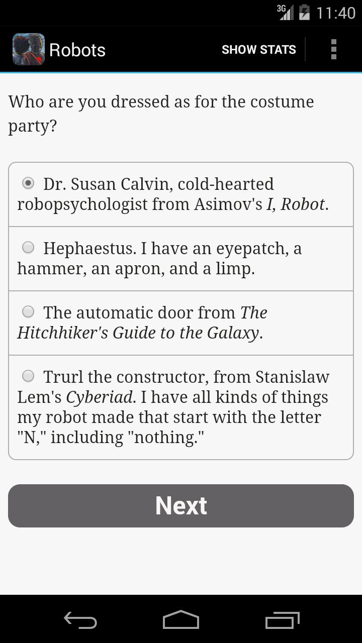 Choice of Robots screenshot #3