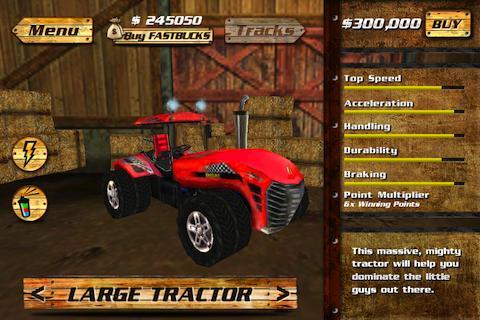 AgRacer- screenshot
