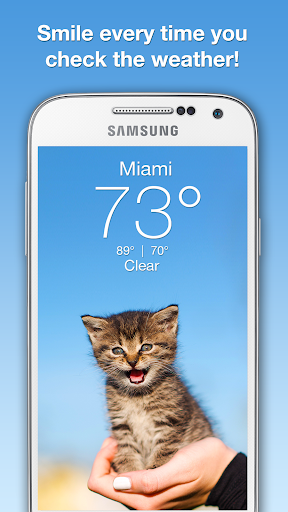 Weather Kitty Screenshot
