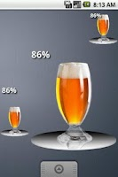 Screenshot of Free Beer Battery Widget