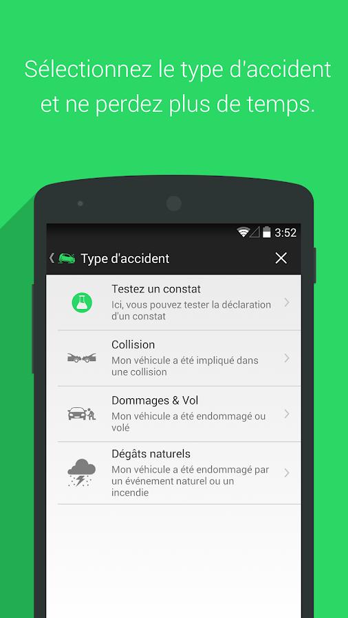 constat, accident, smartphone, e-constat, assurance