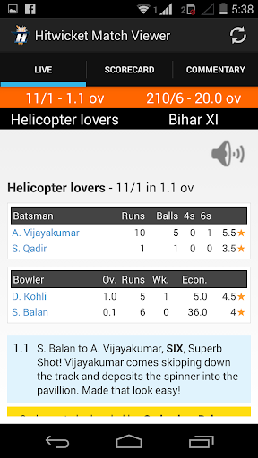 Hitwicket Match Viewer