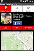 Screenshot of Vodafone Radar
