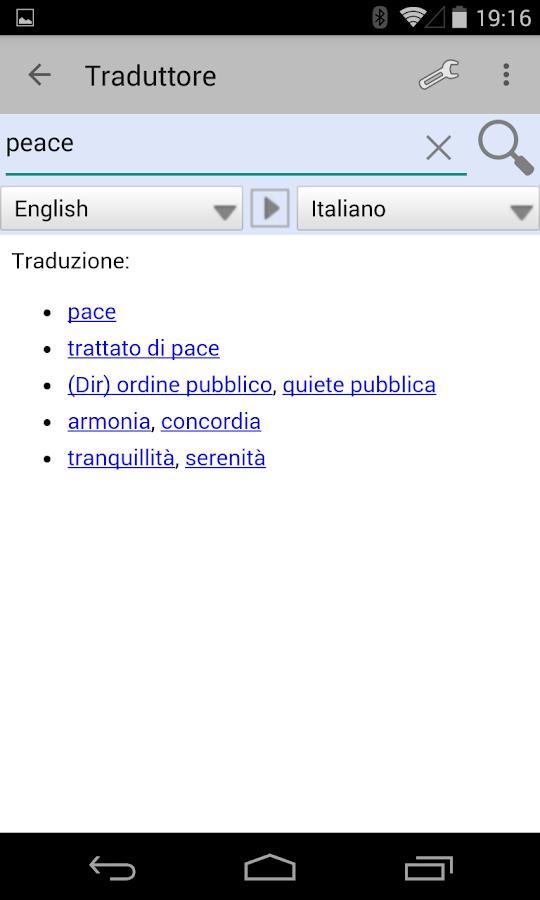 English Translator - screenshot