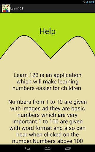 Learn 123