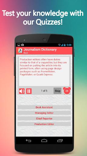 玩教育App|Journalism Dictionary免費|APP試玩