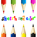 Sketch and Color logo