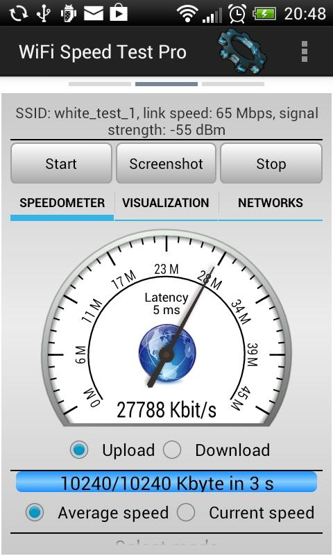 WiFi Speed Test Pro- screenshot