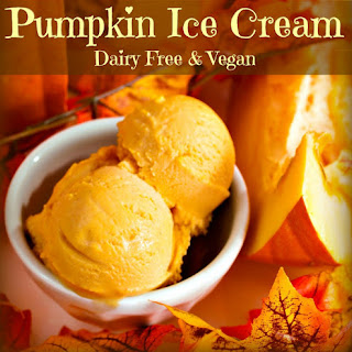 Coconut Milk Pumpkin Ice Cream.