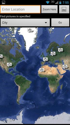 【免費媒體與影片App】Photo Earth: Map & Geotag Pics-APP點子