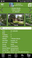 Screenshot of Houston Homes for Sale