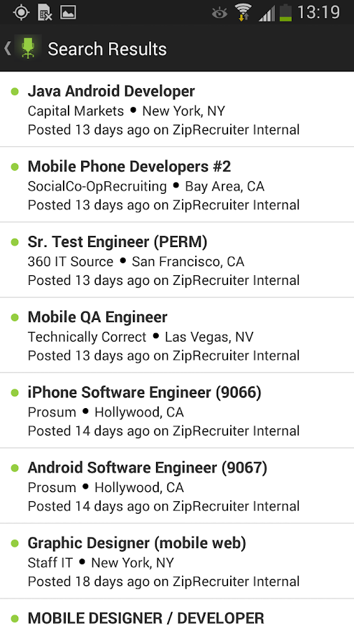 Job Search by ZipRecruiter - Android Apps on Google Play