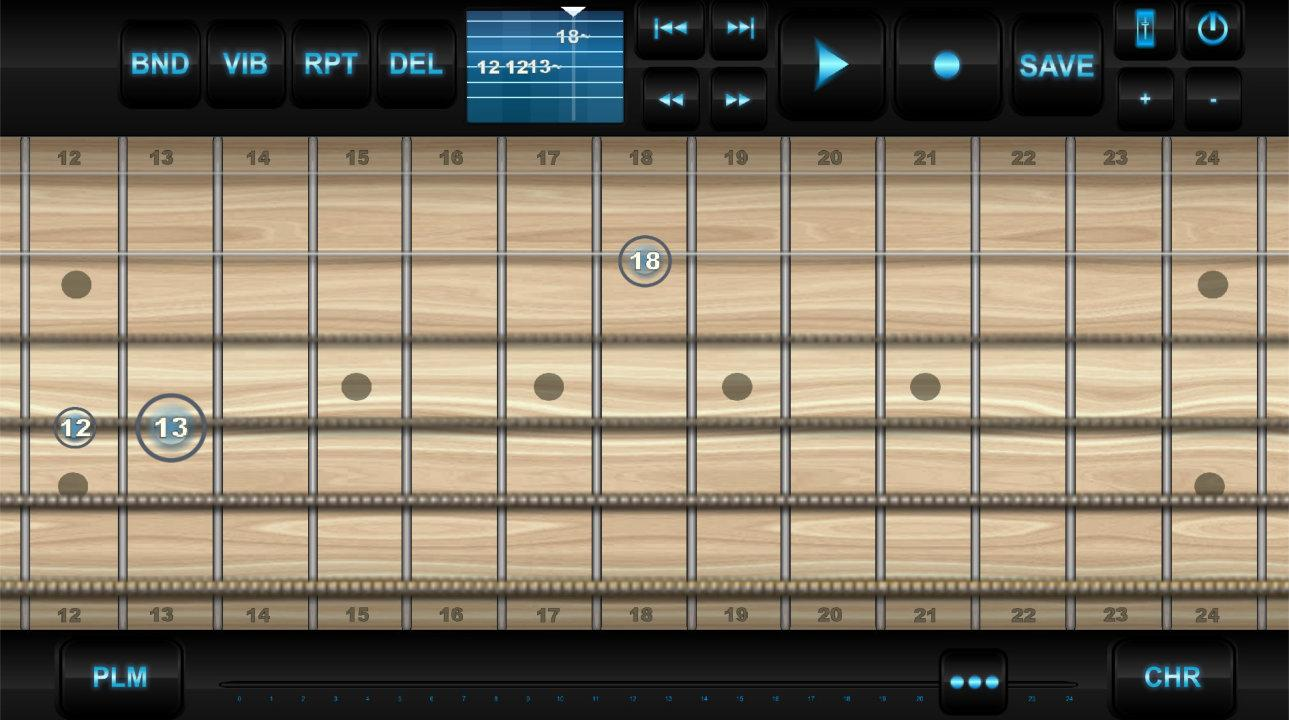 Guitarcraft - Creative guitar - screenshot