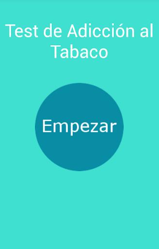Test Adicción Tabaco