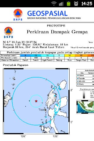Pantauan Bencana Indonesia - screenshot