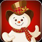 雪人和圣诞老人 icon
