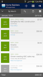 Expenses @t Work - screenshot thumbnail
