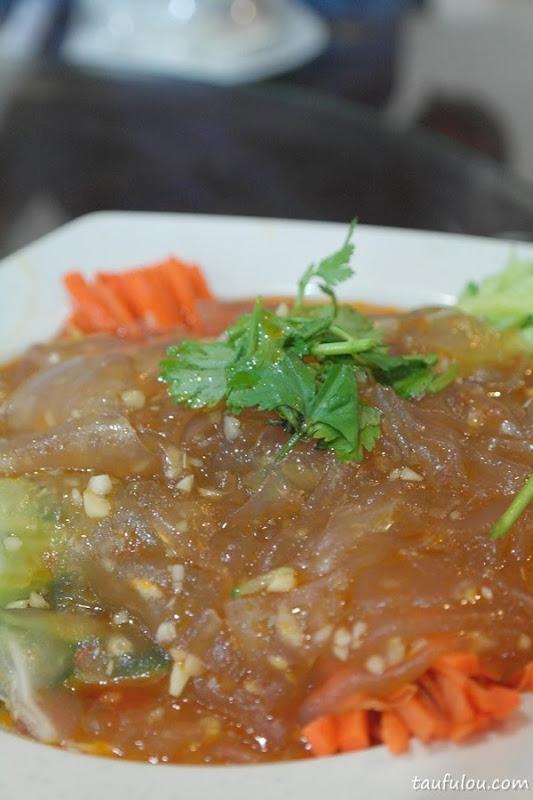 Cucumber Carrot Salad Fish Cake