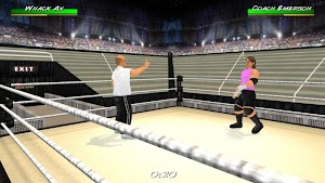 20 Wrestling Revolution 3D App screenshot