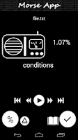 Screenshot of Morse App (Learn Morse code)