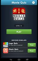 Screenshot of Movie Quiz